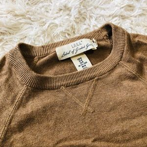 H&M Sweaters - H&M • Crew Neck Sweater • Brown